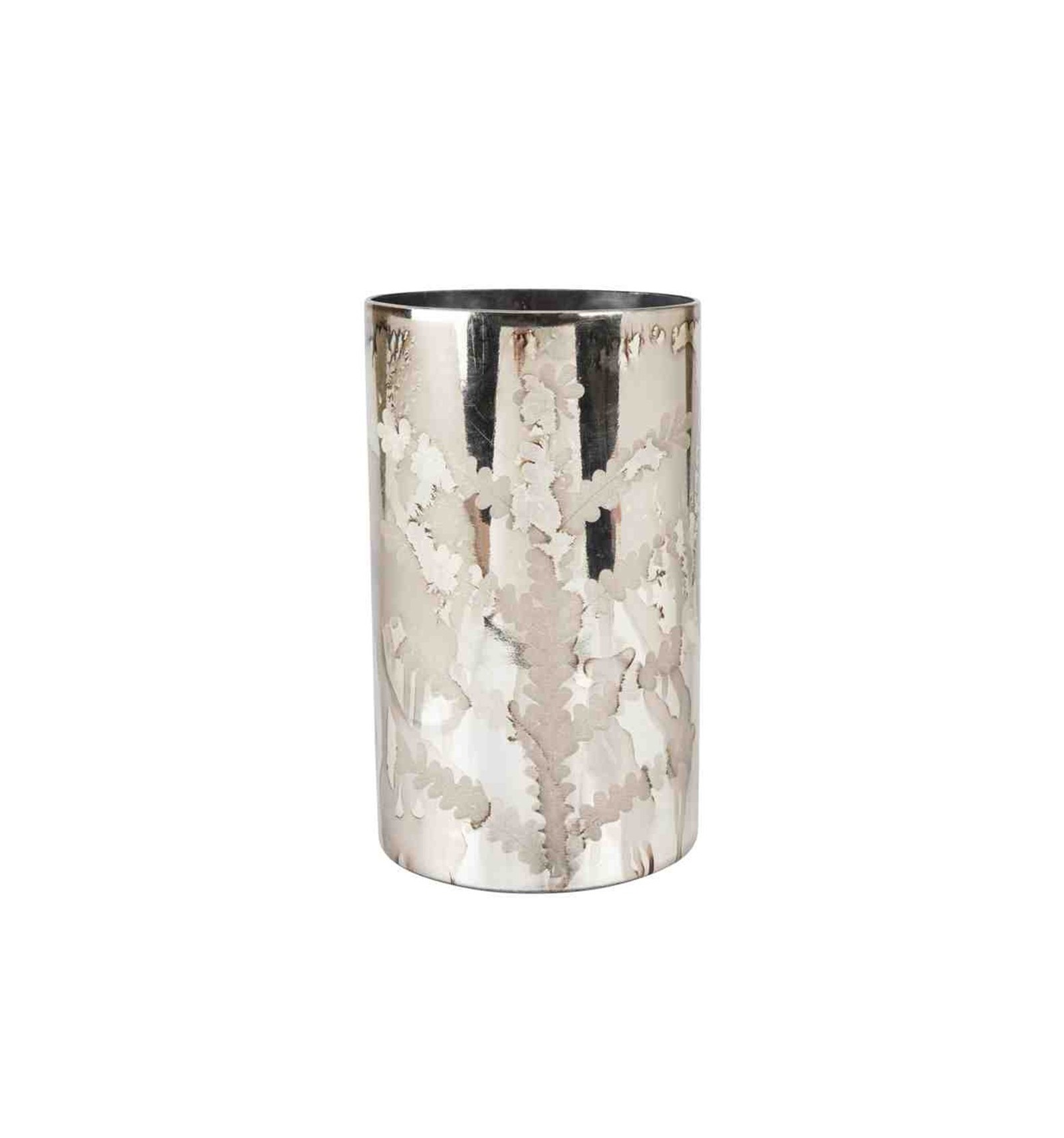 Jarr n cristal envejecido h25 d15cm apia for Jarron cristal